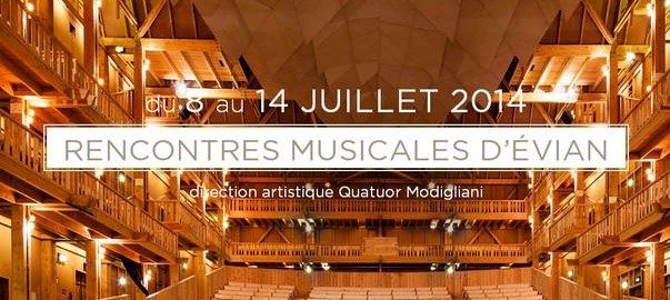 Rencontres musicales evian