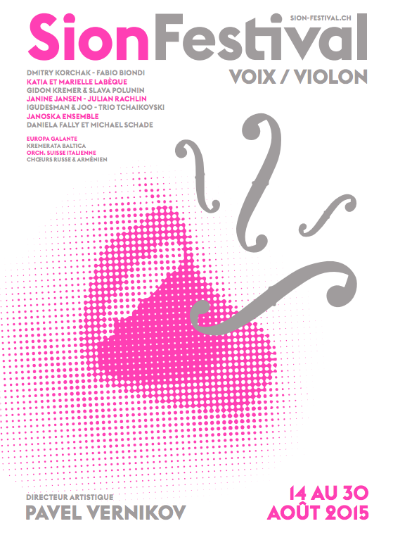 Sion music festival 2015 flyer