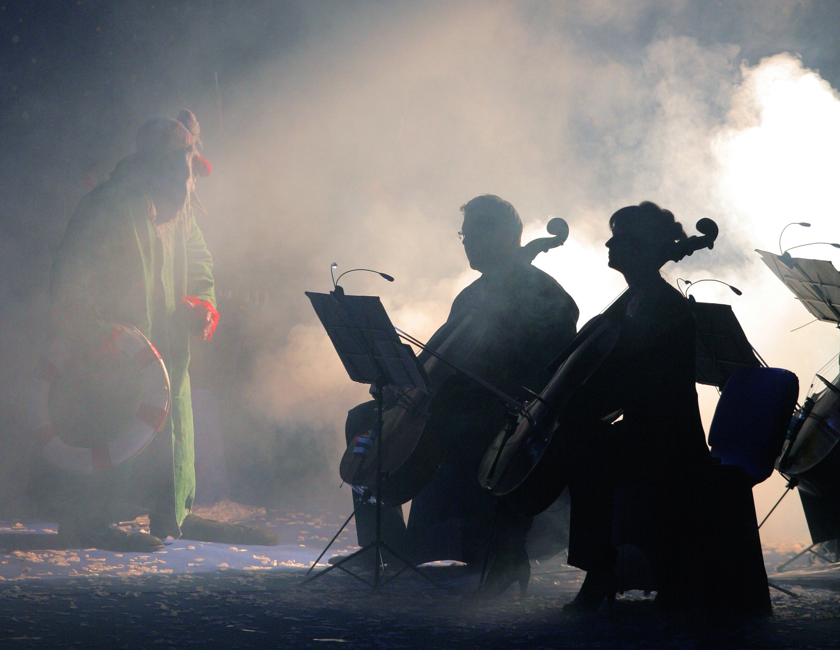 Kremerata Baltica, Gidon Kremer and Slava Polunin presents the SNOWSYMPHONY-
