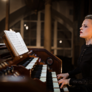 "Iveta Apkalna joins Kremerata Baltica on tour to present the program ""Bach and Baltics"" ©Juris Zīģelis"